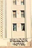 Όμορφα σπίτια στο ύφος του Art Deco Στοκ φωτογραφία με δικαίωμα ελεύθερης χρήσης
