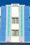 Όμορφα σπίτια στο ύφος του Art Deco Στοκ Φωτογραφία