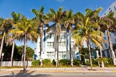Όμορφα σπίτια στο ύφος του Art Deco Στοκ Εικόνες
