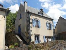 Όμορφα σπίτια της Γαλλίας Σαιντ Ετιέν-Medoc Στοκ Εικόνες