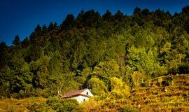 Όμορφα σπίτια του χωριού Nepali Στοκ φωτογραφία με δικαίωμα ελεύθερης χρήσης