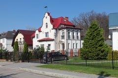 Όμορφα σπίτια Στοκ φωτογραφία με δικαίωμα ελεύθερης χρήσης