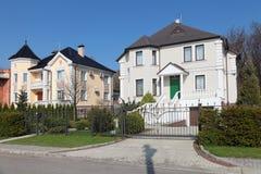 Όμορφα σπίτια Στοκ Εικόνες