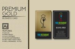 Όμορφα σχέδια επαγγελματικών καρτών απεικόνιση αποθεμάτων