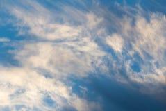 Όμορφα σύννεφα στην αυγή Στοκ φωτογραφίες με δικαίωμα ελεύθερης χρήσης