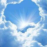 όμορφα σύννεφα Στοκ φωτογραφίες με δικαίωμα ελεύθερης χρήσης