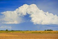 Όμορφα σύννεφα Στοκ Φωτογραφίες