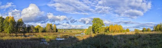 Όμορφα τοπία της φύσης της Λευκορωσίας στοκ φωτογραφία με δικαίωμα ελεύθερης χρήσης