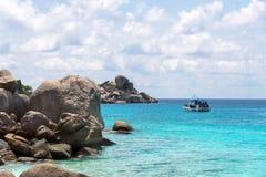 Όμορφα τοπία Koh Miang Koh Similan, Ταϊλάνδη της MU Στοκ φωτογραφία με δικαίωμα ελεύθερης χρήσης