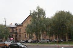 Όμορφα τούβλα που ενσωματώνουν το Ζάγκρεμπ Στοκ φωτογραφίες με δικαίωμα ελεύθερης χρήσης