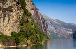 Όμορφα φιορδ της Νορβηγίας Στοκ εικόνες με δικαίωμα ελεύθερης χρήσης