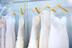 όμορφα φορέματα λίγος γάμος Στοκ Εικόνα