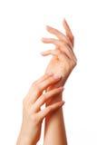όμορφα χέρια Στοκ φωτογραφία με δικαίωμα ελεύθερης χρήσης
