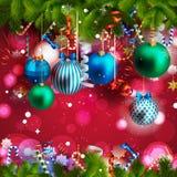 όμορφα Χριστούγεννα ανασ&ka Στοκ φωτογραφίες με δικαίωμα ελεύθερης χρήσης