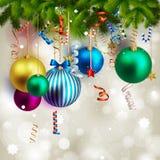 όμορφα Χριστούγεννα ανασ&ka Στοκ εικόνες με δικαίωμα ελεύθερης χρήσης