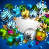 όμορφα Χριστούγεννα ανασ&ka Στοκ φωτογραφία με δικαίωμα ελεύθερης χρήσης