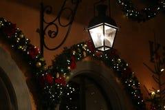 Όμορφα Χριστούγεννα και νέα σκηνή ετών Στοκ Φωτογραφίες