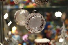 Όμορφα Χριστούγεννα και νέα σκηνή ετών Στοκ εικόνες με δικαίωμα ελεύθερης χρήσης