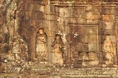 Όμορφα apsaras στο ναό Banteay Kdei στην Καμπότζη Στοκ φωτογραφίες με δικαίωμα ελεύθερης χρήσης