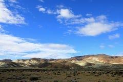 Όμορφα badlands στην κοιλάδα Chubut, Αργεντινή Στοκ Εικόνες
