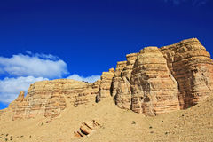Όμορφα badlands στην κοιλάδα Chubut, Αργεντινή Στοκ εικόνες με δικαίωμα ελεύθερης χρήσης