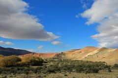 Όμορφα badlands στην κοιλάδα Chubut, Αργεντινή Στοκ Φωτογραφίες
