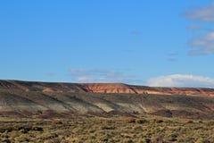 Όμορφα badlands στην κοιλάδα Chubut, Αργεντινή Στοκ φωτογραφία με δικαίωμα ελεύθερης χρήσης
