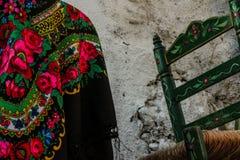 Όμορφα Flamenco παραδοσιακά στοιχεία Στοκ Φωτογραφία