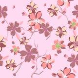 Όμορφα floral σχέδια στο ιαπωνικό ύφος Στοκ φωτογραφία με δικαίωμα ελεύθερης χρήσης