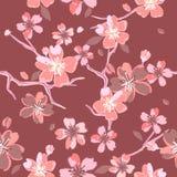 Όμορφα floral σχέδια στο ιαπωνικό ύφος Στοκ φωτογραφίες με δικαίωμα ελεύθερης χρήσης