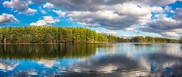 Όμορφες αντανακλάσεις λιμνών Στοκ Εικόνες