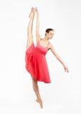 όμορφες γκρίζες νεολαίες ballerina ανασκόπησης Στοκ φωτογραφίες με δικαίωμα ελεύθερης χρήσης