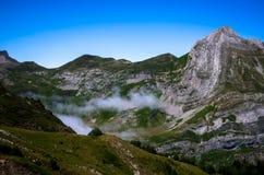 Όμορφες γραμμές του Pyrenees& x27  βουνά, Γαλλία Στοκ Φωτογραφίες