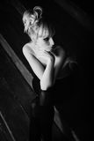 όμορφες γυμνές νεολαίε&sigmaf Στοκ φωτογραφία με δικαίωμα ελεύθερης χρήσης