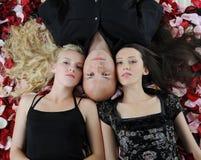 όμορφες γυναίκες ανδρών Στοκ φωτογραφία με δικαίωμα ελεύθερης χρήσης