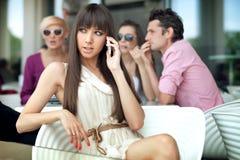 όμορφες γυναικείες νεολαίες Στοκ Εικόνες