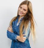 όμορφες γυναικείες χαμογελώντας νεολαίες Στοκ φωτογραφία με δικαίωμα ελεύθερης χρήσης