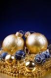 Όμορφες διακοσμήσεις Χριστουγέννων Στοκ Φωτογραφίες