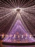 Όμορφες διακοσμήσεις στο πάρκο Στοκ Εικόνα