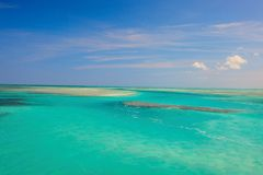 όμορφες Καραϊβικές Θάλασ&s Στοκ φωτογραφίες με δικαίωμα ελεύθερης χρήσης