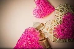όμορφες καρδιές Στοκ εικόνες με δικαίωμα ελεύθερης χρήσης