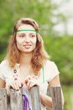 όμορφες κορδέλλες κοριτσιών Στοκ φωτογραφίες με δικαίωμα ελεύθερης χρήσης