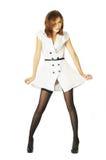 όμορφες λευκές γυναίκε& Στοκ Εικόνα