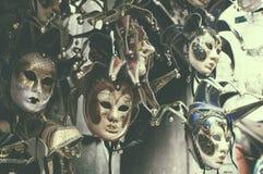 όμορφες μάσκες Βενετός Στοκ Φωτογραφίες