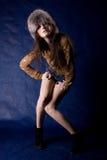 όμορφες μυστικές γυναίκ&epsi Στοκ φωτογραφία με δικαίωμα ελεύθερης χρήσης