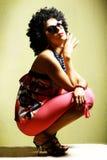 όμορφες μόδας νεολαίες &gam στοκ εικόνα με δικαίωμα ελεύθερης χρήσης