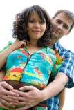 όμορφες νεολαίες έγκυω& Στοκ εικόνα με δικαίωμα ελεύθερης χρήσης