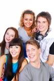 όμορφες νεολαίες ανθρώπων Στοκ Εικόνες