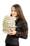 όμορφες νεολαίες βιβλι Στοκ Εικόνες