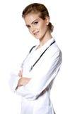 όμορφες νεολαίες γιατρώ& Στοκ εικόνες με δικαίωμα ελεύθερης χρήσης
